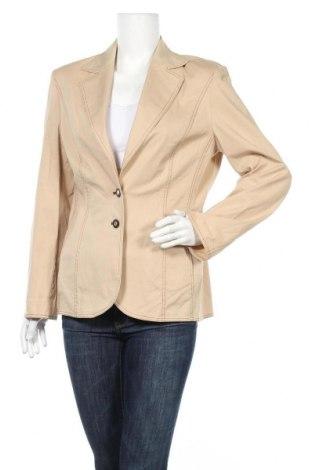 Дамско сако Fabiani, Размер M, Цвят Бежов, 97% памук, 3% еластан, Цена 6,83лв.