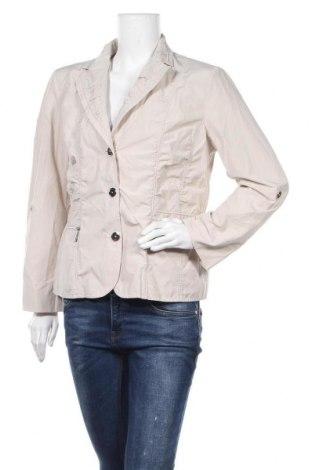 Дамско сако Fabiani, Размер XL, Цвят Бежов, 55% полиестер, 45% памук, Цена 26,46лв.