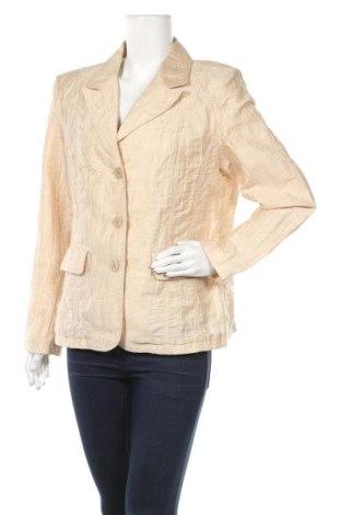 Дамско сако Fabiani, Размер XL, Цвят Бежов, Цена 24,57лв.