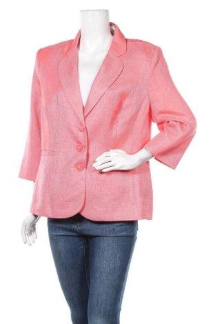 Дамско сако Fair Lady, Размер XL, Цвят Розов, Полиестер, Цена 25,52лв.