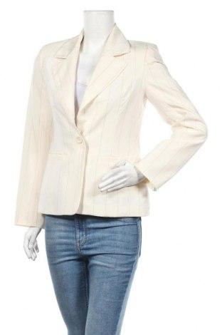Дамско сако Fashion Express, Размер M, Цвят Екрю, Полиестер, Цена 26,88лв.