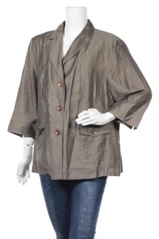 Дамско сако Franco Callegari, Размер XXL, Цвят Зелен, Цена 17,64лв.
