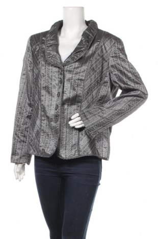 Дамско сако Gelco, Размер XL, Цвят Сив, Полиестер, Цена 35,70лв.