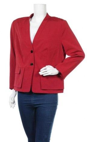 Дамско сако Gerry Weber, Размер XXL, Цвят Червен, Цена 33,92лв.