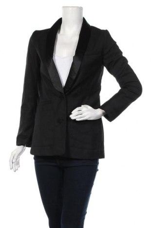 Дамско сако H&M, Размер S, Цвят Черен, 80% полиестер, 20% вискоза, Цена 21,26лв.
