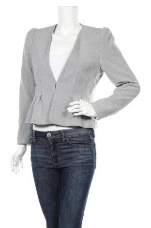 Дамско сако H&M, Размер L, Цвят Сив, 68% полиестер, 29% вискоза, 3% еластан, Цена 19,11лв.