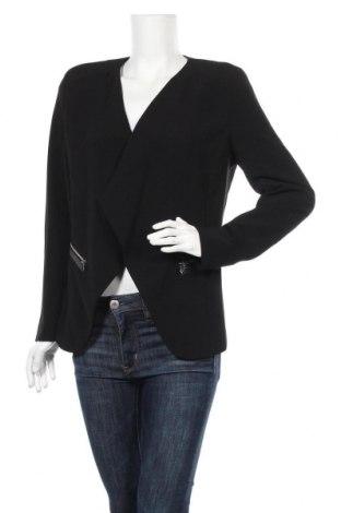 Дамско сако H&M, Размер L, Цвят Черен, 93% полиестер, 7% еластан, Цена 25,52лв.