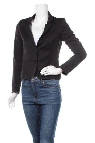 Дамско сако H&M Divided, Размер S, Цвят Черен, 66% полиестер, 32% вискоза, 2% еластан, Цена 7,09лв.