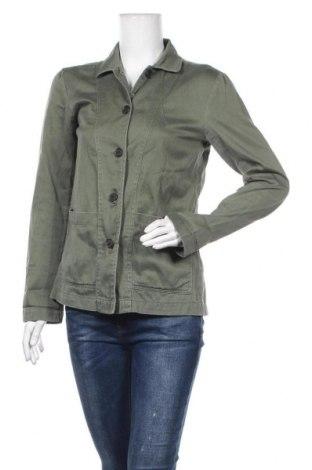 Дамско сако H&M L.O.G.G., Размер S, Цвят Зелен, Памук, Цена 24,57лв.