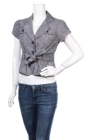 Дамско сако Hot Options, Размер M, Цвят Сив, Полиестер, памук, еластан, Цена 3,00лв.