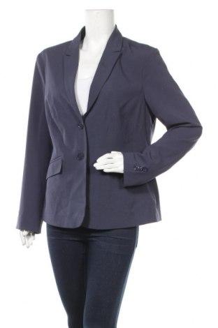 Γυναικείο σακάκι Iwie, Μέγεθος XL, Χρώμα Μπλέ, 96% πολυεστέρας, 4% ελαστάνη, Τιμή 8,45€