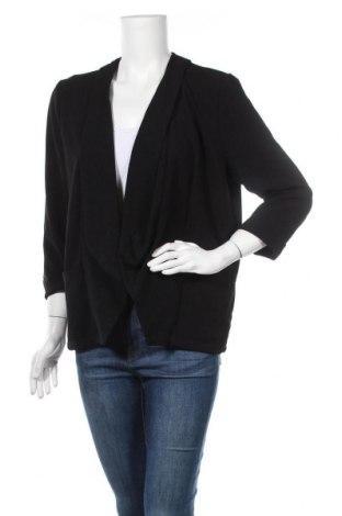 Дамско сако Janina, Размер L, Цвят Черен, 98% полиестер, 2% еластан, Цена 10,92лв.