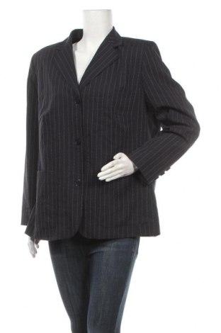 Дамско сако Laura Lebek, Размер XL, Цвят Син, 69% полиестер, 26% вълна, 4% еластан, Цена 7,35лв.