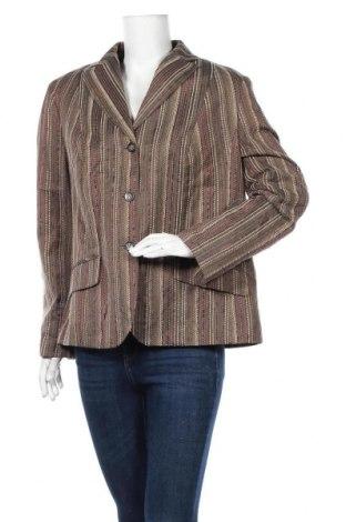 Дамско сако Laura Lebek, Размер XL, Цвят Многоцветен, 35% полиестер, 35% памук, 25% полиакрил, 5% коприна, Цена 6,30лв.