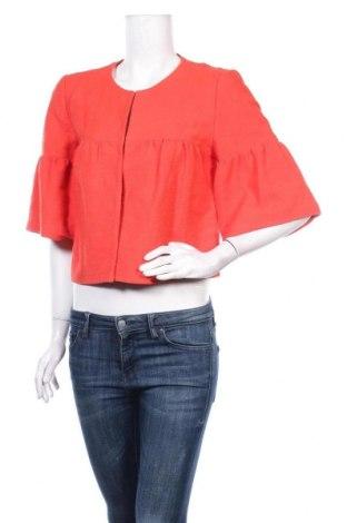 Дамско сако Loft By Ann Taylor, Размер S, Цвят Червен, 96% памук, 4% други тъкани, Цена 39,27лв.