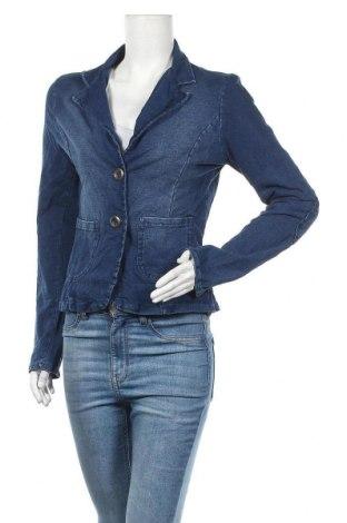 Дамско сако Made In Italy, Размер L, Цвят Син, Памук, Цена 5,80лв.