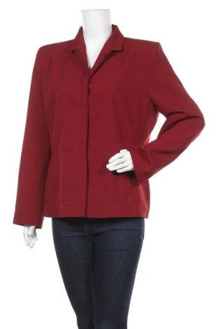 Дамско сако Miss H., Размер XL, Цвят Червен, Полиестер, Цена 5,46лв.