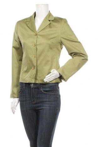 Дамско сако More & More, Размер M, Цвят Зелен, 99% памук, 1% еластан, Цена 12,76лв.