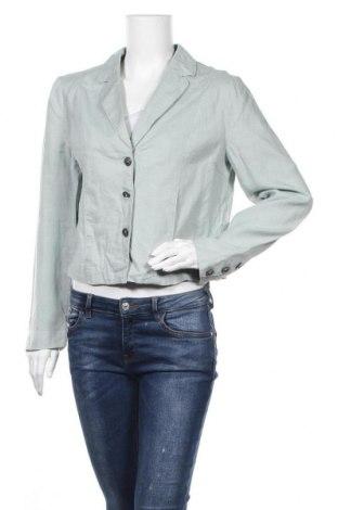 Γυναικείο σακάκι Noa Noa, Μέγεθος M, Χρώμα Μπλέ, Λινό, Τιμή 9,32€