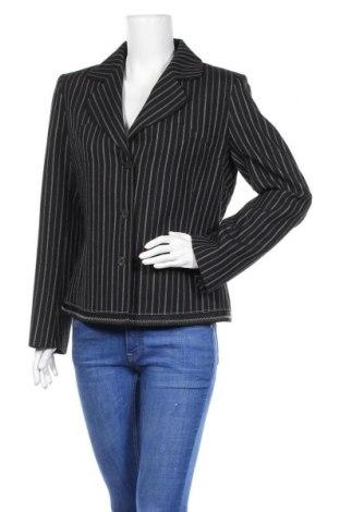 Γυναικείο σακάκι Noa Noa, Μέγεθος L, Χρώμα Μπλέ, 55% πολυεστέρας, 45% μαλλί, Τιμή 41,29€