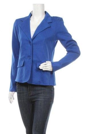 Дамско сако Okay, Размер M, Цвят Син, 65% памук, 30% полиестер, 5% еластан, Цена 6,83лв.