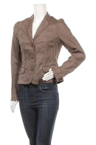 Γυναικείο σακάκι One Touch, Μέγεθος M, Χρώμα  Μπέζ, Λινό, Τιμή 7,27€