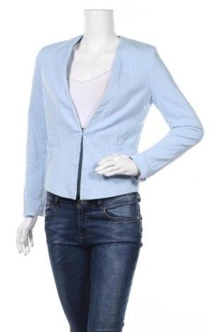 Дамско сако Orsay, Размер M, Цвят Син, 77% памук, 20% вискоза, 3% еластан, Цена 18,27лв.