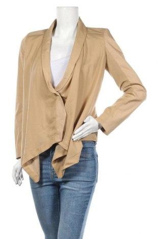 Дамско сако Patrizia Pepe, Размер M, Цвят Бежов, 97% памук, 3% еластан, Цена 18,94лв.