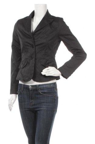 Дамско сако Pia Jessen, Размер S, Цвят Черен, 97% памук, 2% еластан, 1% полиестер, Цена 6,62лв.