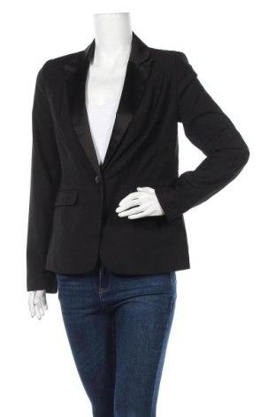 Дамско сако Pimkie, Размер M, Цвят Черен, 82% полиестер, 18% вискоза, Цена 23,52лв.