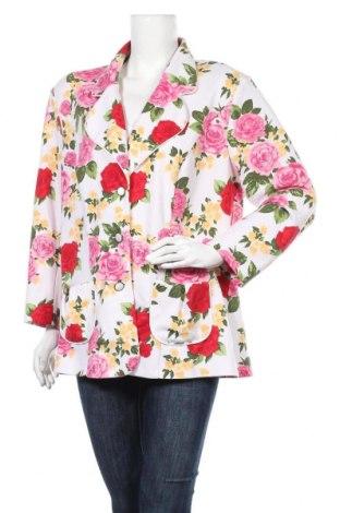 Дамско сако Pompoos Design By Harald Gloockler, Размер XXL, Цвят Многоцветен, 95% полиестер, 5% еластан, Цена 22,58лв.
