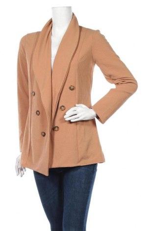 Γυναικείο σακάκι Pretty Little Thing, Μέγεθος S, Χρώμα Καφέ, 95% πολυεστέρας, 5% ελαστάνη, Τιμή 5,91€