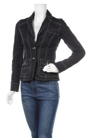 Дамско сако Q/S by S.Oliver, Размер XS, Цвят Черен, 98% памук, 2% еластан, Цена 26,46лв.