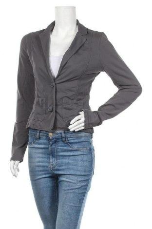 Дамско сако S.Oliver, Размер XS, Цвят Сив, 100% памук, Цена 15,44лв.
