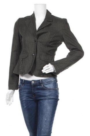 Дамско сако S.Oliver, Размер S, Цвят Зелен, 100% памук, Цена 18,11лв.