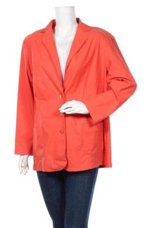 Γυναικείο σακάκι Sallie Sahne, Μέγεθος XXL, Χρώμα Πορτοκαλί, 62% βισκόζη, 34% πολυαμίδη, 4% ελαστάνη, Τιμή 20,43€