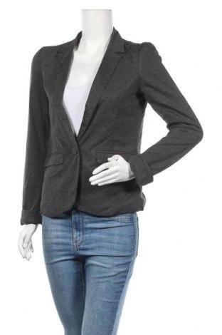 Дамско сако Sinsay, Размер M, Цвят Сив, 85% полиестер, 15% памук, Цена 18,17лв.