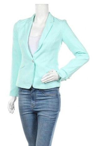 Дамско сако Sinsay, Размер XS, Цвят Зелен, Цена 28,35лв.