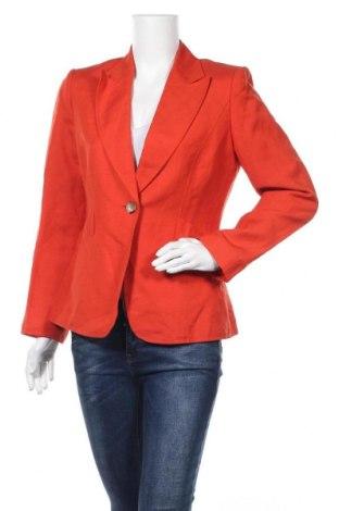 Γυναικείο σακάκι Tahari By Arthur S. Levine, Μέγεθος S, Χρώμα Πορτοκαλί, 55% λινό, 45% βισκόζη, Τιμή 17,05€