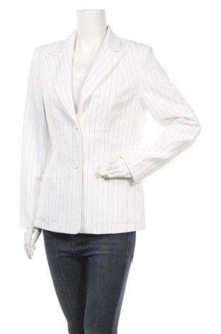 Дамско сако Trend, Размер L, Цвят Бял, 97% полиестер, 3% вискоза, Цена 15,12лв.