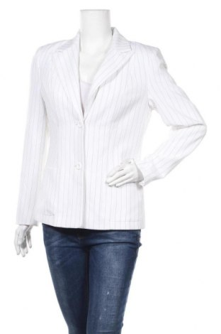 Дамско сако Trend, Размер M, Цвят Бял, 97% полиестер, 3% вискоза, Цена 14,70лв.