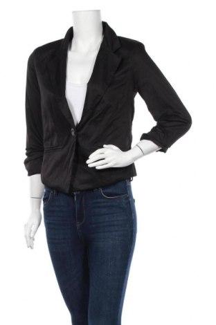 Γυναικείο σακάκι Usco, Μέγεθος M, Χρώμα Μαύρο, Πολυεστέρας, Τιμή 5,46€