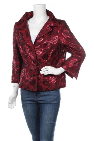 Γυναικείο σακάκι Vera Mont, Μέγεθος XL, Χρώμα Κόκκινο, 49% ασετάτ, 45% πολυεστέρας, 6% πολυαμίδη, Τιμή 23,19€