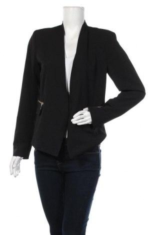 Дамско сако Vero Moda, Размер M, Цвят Черен, 70% полиестер, 25% вискоза, 5% еластан, Цена 13,65лв.