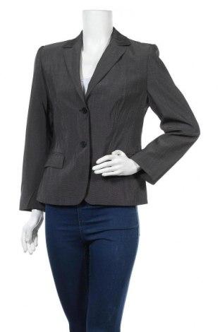 Γυναικείο σακάκι Vittoria Verani, Μέγεθος M, Χρώμα Γκρί, 46% πολυεστέρας, 38% μαλλί, 15% βισκόζη, 1% ελαστάνη, Τιμή 3,91€