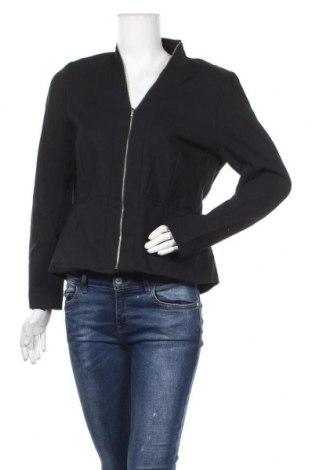 Дамско сако Wayne Cooper, Размер L, Цвят Черен, 50% памук, 46% полиамид, 4% еластан, Цена 10,24лв.