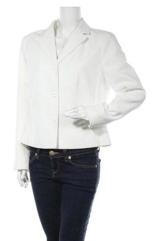Дамско сако Woman's Fashion, Размер L, Цвят Бял, Полиестер, Цена 16,38лв.