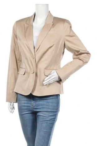 Дамско сако Yessica, Размер L, Цвят Бежов, 98% памук, 2% еластан, Цена 14,47лв.