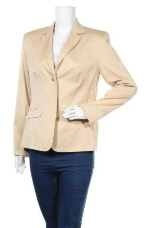 Γυναικείο σακάκι Yorn, Μέγεθος L, Χρώμα  Μπέζ, Βαμβάκι, Τιμή 5,14€