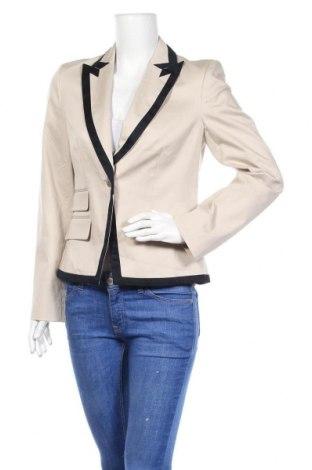 Γυναικείο σακάκι Yorn, Μέγεθος M, Χρώμα  Μπέζ, 75% βαμβάκι, 23% βισκόζη, 2% ελαστάνη, Τιμή 6,50€